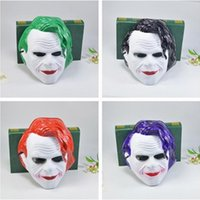 Wholesale kids batman party masks for sale - Group buy Helloween Joker Masks Kids Party Mask Cosplay Toys Batman Jack Masquerade Masks Justice League Favors Toy Party Decoration Xmas Gift