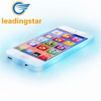 sıcak satış oyuncakları toptan satış-LeadingStar Sıcak satış YPhone Müzik Mobil Eğitim Hediye Oyuncaklar Çocuklar Için Yeni Yıl Hediyeleri USB Şarj ile Beyaz Ve Siyah