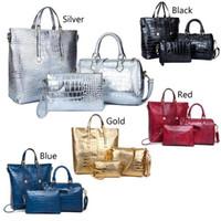 Wholesale ladies piece handbag online - Women Stylish Piece Bag fashion women luxury bags lady PU leather handbags brand bags purse shoulder tote Bag female handbags wallets