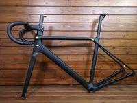 Wholesale fibre discs - 2018 new CF SLX T1000 TOP carbon road bike frame bicycle racing bike frameset + handlebar disc brake taiwan made can be XDB ship