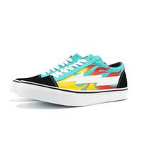 mağaza ayakkabısı toptan satış-Revenge X Fırtına Minibüsleri Eski Skool Pop-up Mağaza 2019 Athentic Tuval Erkek Tasarımcı Spor Koşu Ayakkabıları Erkekler için Sneakers Kadınlar
