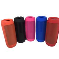 alto-falante de carregamento portátil venda por atacado-Subwoofer Bluetooth Speaker Carga Sem Fio Bluetooth 2 + Subwoofer Profundo Alto-falantes Estéreo Portátil com Caixa de Varejo livre DHL