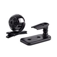 Wholesale sq9 camera resale online - SQ9 Mini Camera P HD Video Recorder Infrared Night Motion Detection Micro Camera Degree Rotation Digital Camera pc