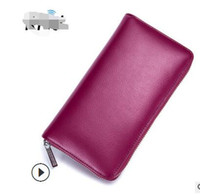 Wholesale car credit - free shipping 36 Card Holder Credit RFID Card Case Auto Car Document Women Passport Cover Case Wallet Female Bag Purse Porte Carte Cardholde