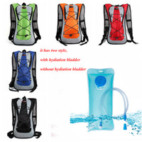 Wholesale bicycle pouch bags resale online - Outdoor sports Water Bag Water back Pack L Bladder Hump Backpack TPU Pouch Hydration System Hiking Climbing Cycling Bike Bicycle Backpack