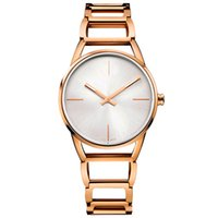 Wholesale quartz watches for sale for sale - Hot sale New Famous Brand Luxury Bracelet Quartz WristWatch Christmas Gift for Ladies Women Rose Gold new speical AAA watches