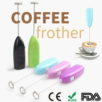 Wholesale Juice Beater - Electric handheld household kitchens supplies Whisk eggbeater coffee milk tea juice Agitator Stainless steel egg tool 8