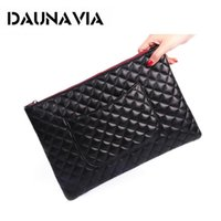 Wholesale Leather Envelope Clutch Bags - New PU Leather Envelope Clutch Bags Cartoon Printing Day Clutches Purse Small Chain Bag Women Cross body Bag for Girl Wrist