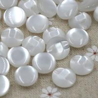 botas de resina al por mayor-Blanco transparente / Mixed RESIN botones botón de marca redonda 12.5MM botas de abrigo coser ropa accesorio 200pcs / set