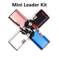 Wholesale free leader - 100% Original Smod MINI Leader Starter Kit 1500mah E-Cigarette With 4 Colors Atomizer With 0.2ohm Coil Mini Kit DHL Free Shipping