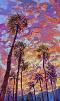 tanz wand leinwand großhandel-Kunstwerk-Sonnenuntergang-Tanz ungerahmt moderne Leinwand Wandkunst für Heim und Büro Dekoration, Ölgemälde, Tierbilder, Rahmen.