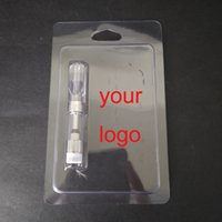 Wholesale blister shell - Retail Packaging Plastic Clam Shell Blister Packing for 0.5ml Vape Oil Cartridges 92A3 G2 th205 Vapor Packaging 510 Cart Packaging
