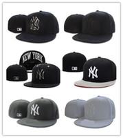 Wholesale new york hip hop caps - New Design COLOR Hip Hop Snapback Baseball Caps Unisex Sports Fitted Bone NY Women Hats New York Men gorras Caps Casual headware casquette
