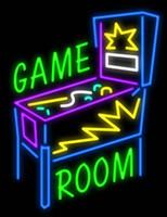 ingrosso segni al neon flipper-Giochi da camera Pinball Neon Sign personalizzati fatti a mano Real Glass Tube Pubblicità Display Neon Signs 24