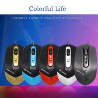 Wholesale usb optical scroll mouse resale online - USB Button Optical Scroll Wired Mouse Mice For PC Laptop Desktop