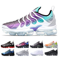 Wholesale new lower sports male resale online - 2019 New Chaussures TN Plus Ultra Silver Traderjoes Running Shoes Colorways Male Pack Sports Tns Mens Trainers air Men Designer Sneakers