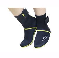 sbart hazır giyim toptan satış-SBART Yeni Varış 3 MM Neopren Dalış Botları Dalış Ekipmanları Scuba Wetsuit Sörf Yüzme çorap kadın ve erkekler Yüzme Yüzgeçleri