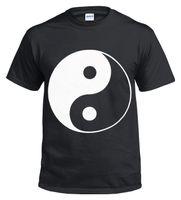 croix en métal chinois achat en gros de-T-shirt NEW YIN YANG 100% coton / Biker / Chinois / Croix / Métal / Cadeau / Musique / Tophoodie hip hop