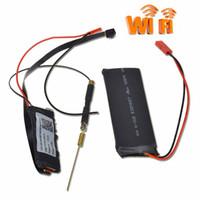 Wholesale mini camera modules - 1920*1080P Mini Network Camera Security Video Camera Wifi P2P DIY Module Mini DV Nanny Cam DVR Wireless IP Surveillance Camera S06