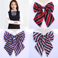 Wholesale Wholesale Apparel For Women - Career Apparel Suit Women Bow Ties Fashion Korean Style Students Bowties For Wedding Performance Neckware Cravats New 46 87mz Z