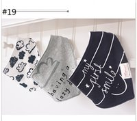 Wholesale baby cravats resale online - cotton baby Bibs boys and girls triangle Burp Cloths baby towel bandanas scarf children cravat infant towel