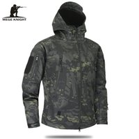 Wholesale multicam camouflage clothing for sale - Mege Brand Clothing Autumn Men S Military Camouflage Fleece Jacket Army Tactical Clothing Multicam Male Camouflage Windbreakers