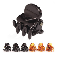 Wholesale hair claw clip plastic for sale - 120pcs Black Hair Clips Clipper Clip Barrettes For Women Ladies Plastic Claws Hairpin Headwear Hair Styling Tools