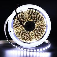 dc mal großhandel-LED-Streifen 5054 SMD (5050 aktualisiert) 5M 600 LED Wasserdichtes, flexibles IP65-LED-Bandlicht Superhell, 2-fache Helligkeit als 5050