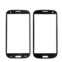передние панели оптовых-SZHAIYU A+ Top Replacement LCD Outer Lens Glass Front Screen Panel For  Galaxy S3 i9300 Front Glass + Kits