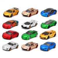 Wholesale hot wheels mini cars - 1:64 Scale Hot Wheels Fast And Furious Electroplated Metal Toy Car Diecast Mini Race Pocket Car Boy Toy For Child Birthday Gift