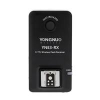 yn flash al por mayor-venta al por mayor E-TTL YNE3-RX Receptor de flash remoto inalámbrico para YN-E3-RT / YN600EX-RT / ST-E3-RT / 600EX-RT