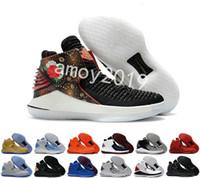 новые пароли оптовых-2018 Новый 32 Китайский Новый год мужчины баскетбол обувь высокого качества XXXII 32s Шершни мужские тренеры спортивные кроссовки размер 40-46