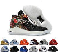 nuevas zapatillas de baloncesto chinas al por mayor-2018 Nuevo 32 Año Nuevo Chino Hombres Zapatos de Baloncesto de Alta Calidad XXXII 32s Hornets Hombres Entrenadores Zapatillas Deportivas Tamaño 40-46