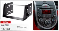Wholesale din dash installation kit - CARAV 11-148 TOP quality car radio installation dash mount kit stereo install for KIA Soul 2008-2011 2-DIN