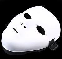 Wholesale mask ghost dance resale online - JabbaWockeeZ Mask Face Mask Halloween Party Mask HALLOWEEN Hip Hop GHOST DANCE PVC pure white masquerade party masks