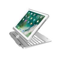 ingrosso casi astuti-Custodie per tastiera smart per Tablet PC Pad 9.7 Pad Pro9.7 Air 1/2 con batteria per illuminazione 7 colori 270Mah 4 colori C083