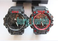 Wholesale Watches Led Boy - New arrival relogio GWG men's sports watches, LED chronograph wristwatch, military watch, digital watch, good gift for men boy dropshipping
