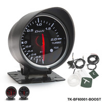 Wholesale Cars Boost - Tansky Defi 60mm BOOST GAUGE High Quality Car Turbo Gauge Boost Gauge with Red & White Light TK-BF60001-BOOST