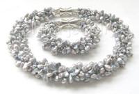 amethyst grau perlenarmbänder großhandel-18