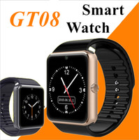 Wholesale turkish silver bracelets - GT08 Bluetooth Smart Watch with SIM Card Slot and NFC Health Watchs for Android Samsung and IOS Apple iphone Smartphone Bracelet Smartwatch