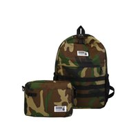 ingrosso set di telefoni di moda-hiphop uomini moda tas rugtas bambini zaino ragazzi Camouflage shoulder bagpack marchio rugzak vrouw womens school bag set per ragazze