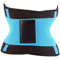 Wholesale fitness slim belt online - 2018 Women s Fitness Waist Cincher Waist Trimmer Corset Ventilate Adjustable Tummy Trimmer Trainer Belt Weight Loss Slimming Belt