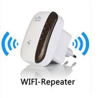 Wholesale wireless router range extender - New Wireless Wifi Repeater router Signal Extender Repeater range booster WiFi Range Expander Signal Booster Extender DHL free shipping