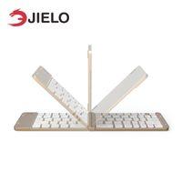 2-метровый нейлоновый кабель iphone оптовых-JIELO Bluetooth 3.0 беспроводная клавиатура для Apple ios smart Tablet PC для iPad клавиатура для телефона ноутбук настольный компьютер
