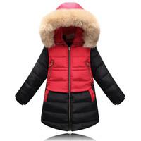 Wholesale beautiful girls coat resale online - New Winter Children Down amp Parkas Outdoor Girls Outerwear amp Coats Fashion Warm Down Coat Beautiful Jacket For Female Child