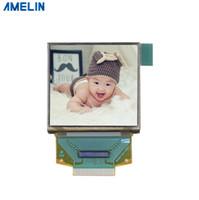 ingrosso schermo da 1,5 pollici-Display OLED da 1,5 pollici con risoluzione 128 * 128 piccolo con schermo amulato quadrato dalla produzione del pannello LCD di amelin shenzhen
