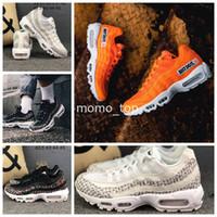 size 40 2aab8 3cd50 95 Chaussures OG Just Do it SE Camo Noir Blanc Orange 95s Homme 2019  Chaussure de course pour entraîneurs sportifs Desinger Sports Sneakers Air  Chaussures