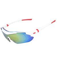 усталостные очки оптовых-Спортивные солнцезащитные очки Велосипедные очки Набор очков ночного видения Защита от ультрафиолетовых лучей Антибликовое Защита от песка Ветрозащитный Уменьшить зрение