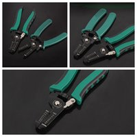 Wholesale Wire Strip Tool - Multifunctional Cable Wire Stripper Stripping Cutter Cutting Pliers Hand Tools For Cutting Electric Wire 6'' 7''FFA396