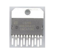 Wholesale stepper motor driver new for sale - Group buy 10pcs L6203 ZIP New Original stepper motor driver chip In stock High Qulaity